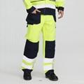 Hi -Vis flame retardant cargo pants for