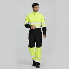 PPE High Visibility Flame Retardant Coveralls