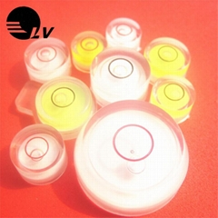 厂家直供万向水平泡 高灵敏度地磅绿色水泡水平珠 塑料天平水平器