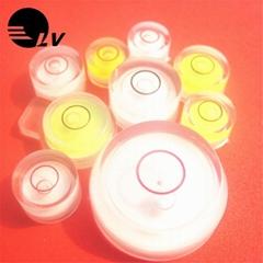 廠家直供萬向水平泡 高靈敏度地磅綠色水泡水平珠 塑料天平水平器
