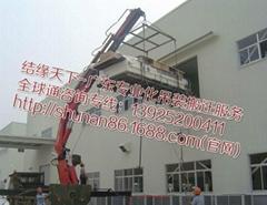 深汕合作区25t随车自卸吊平板吊机车出租赁装卸搬运