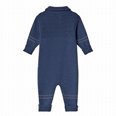 Wholesale 100% Cotton Baby Clothes Soft Stylish Baby Winter Romper Set Baby Romp