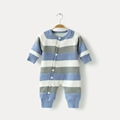 knitted newborn 100% cotton baby rompers infant toddlers clothing pajama romper  1