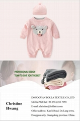 wholesale cute baby jumpsuit cotton pink baby romper Girls Infant Rompers