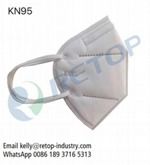 Resuable KN95 Mask Non-woven 4 layers Protective Mask Non-medical KN95 Face Mask
