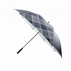 全纖維直杆高爾夫廣告傘