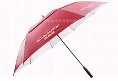30寸雙層高爾夫廣告傘