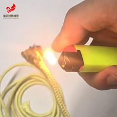 1414芳綸3mm編織繩防火阻燃繩對位芳香族聚酰胺纖維編織芳綸繩