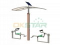 ISO approved outdoor gym equipment Back