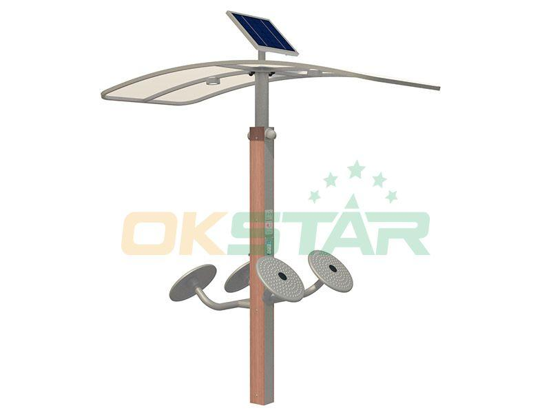 Outdoor fitness equipment New type Taichi wave hands gym fitness equipment  1
