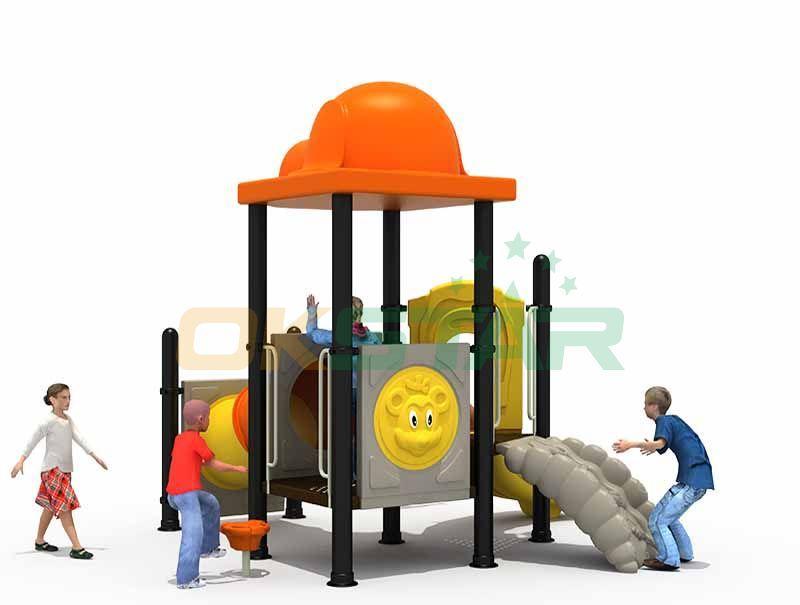 Durable Hot Sale Outdoor Slide Playground Set Custom Made Slide Kids Playground  1