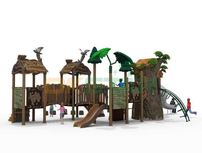 Vivid bird's nest roof Harry potter visual impression for your kids play place 1