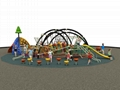 kids outdoor play zone commercial grade