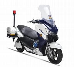 警用电动摩托车