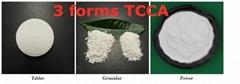 water treatment chemicals CAS 87-90-1 90% trichloroisocyanuric acid TCCA