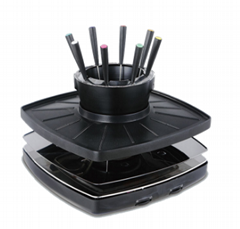 BBQ grills fondue set electric hot pot