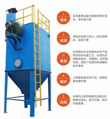 燃煤锅炉除尘器制作安装排放达标