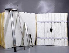 青海玻璃窑炉的炉衬背衬隔热陶瓷纤维板耐火板 现货供应