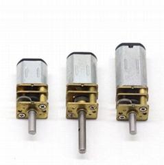 N20 High Torque Brush Motor DC Geared Motor 200rpm Brush Gearbox Motor for Door