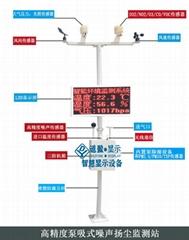 重慶工地揚塵在線環境檢測儀pm