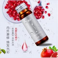 紅參石榴酵素飲品源頭工廠加工生產