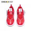 Red color men sport shoes running shoe