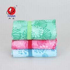 Printed Microfiber Suede Sports Towel