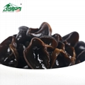 Chinese food natural Black Wood Ear agaric Ear Mushroom Dried black fungus 2
