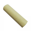 Glass fiber sintered filter element