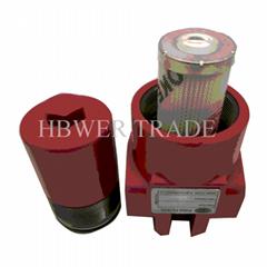 High pressure filter DFBN-HC60TC10C1.0 hydraulic filter made in China
