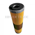 Aviation fuel monitoring filter element