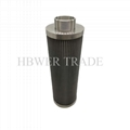 Internal threaded stainless steel filter