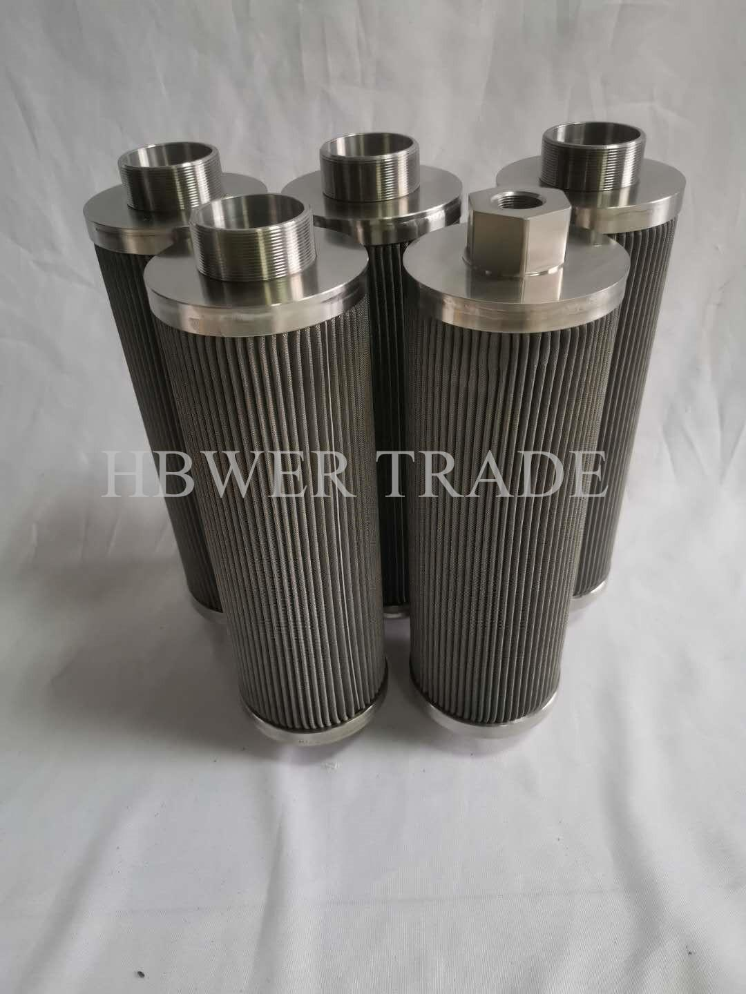 Internal threaded stainless steel filter element 316 304 material stainless stee 5