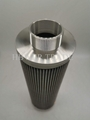 External threaded stainless steel filter element 316 304 material stainless stee 4