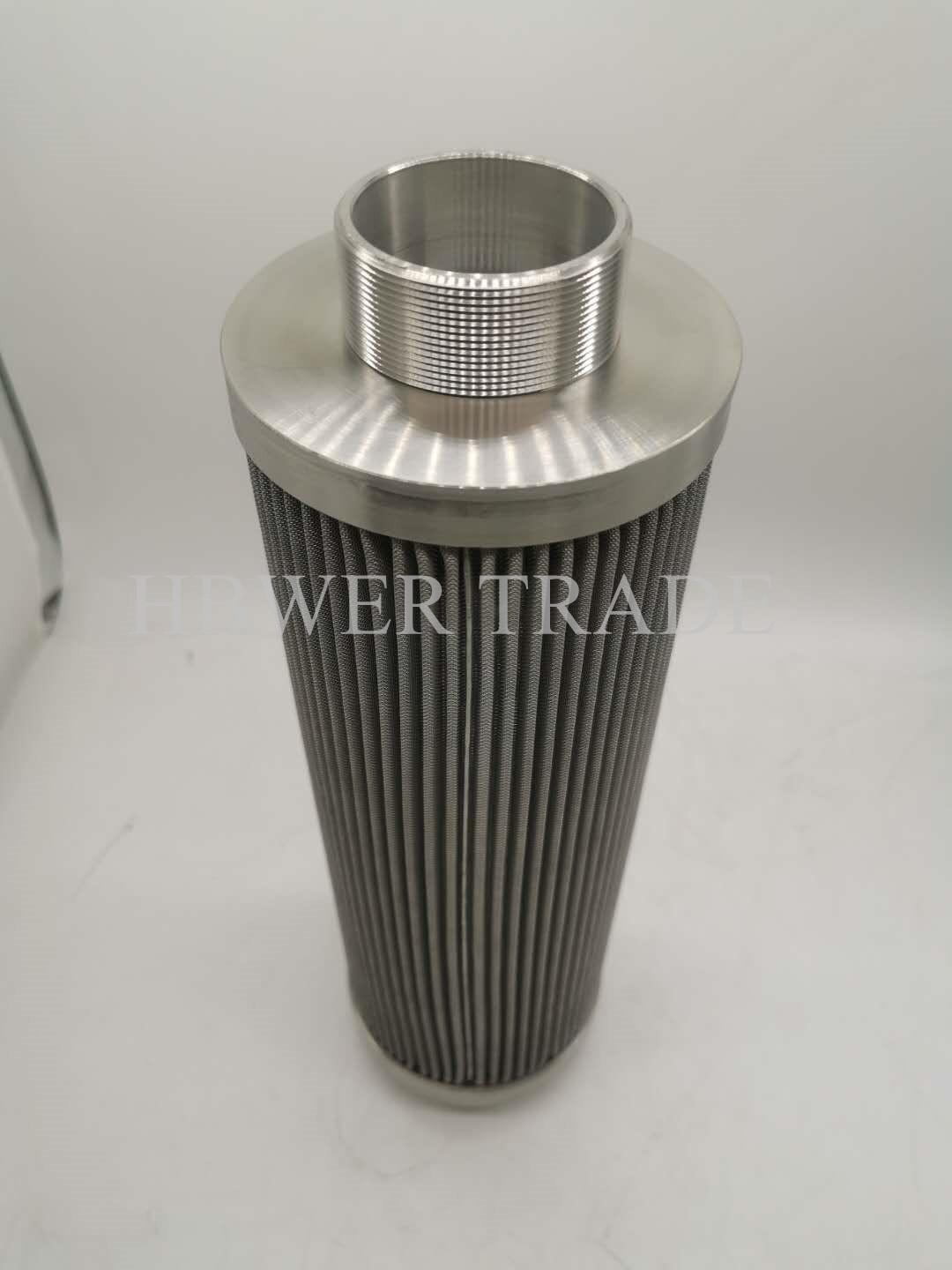 External threaded stainless steel filter element 316 304 material stainless stee 5