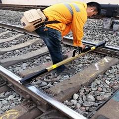 Railway Turnout Gauge Ruler Digital Track gauge rail measuring ruler