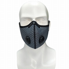 Breathable Anti-Pollution Active Carbon Filter Cycling Sport Face Mask