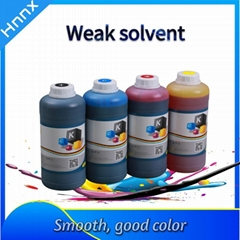 Weak solvent-based ink for Epson Series Nozzles