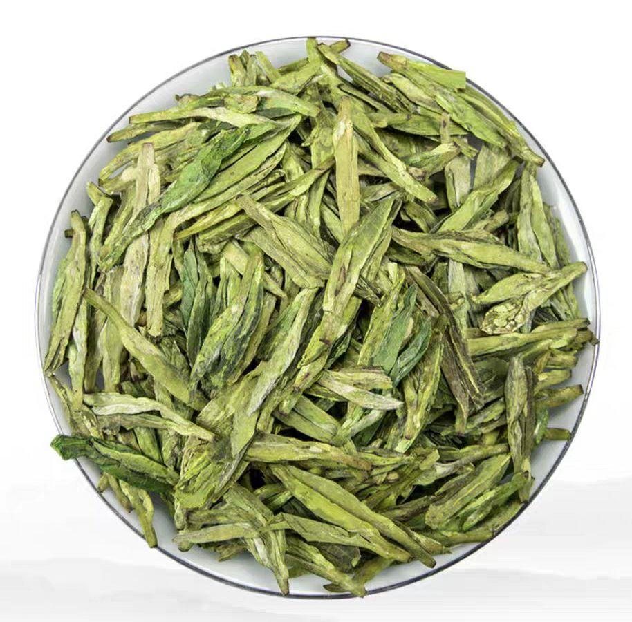Authentic super grade West Lake Mingqian green tea gift box 1