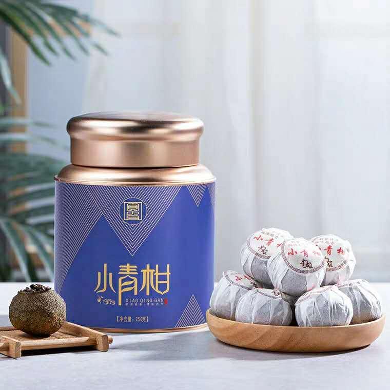 Xinhui xiaoqinggan Pu'er tea 1