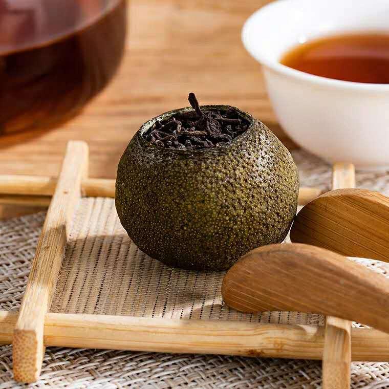 Xinhui xiaoqinggan Pu'er tea 4
