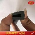 建筑器械设备用PVC胶条U形防护防撞橡塑密封条 4