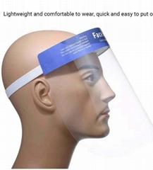 防病毒防油烟用防护面罩