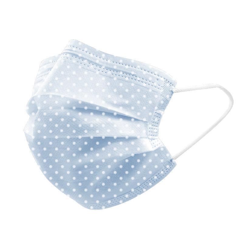 廠家現貨一次性水刺布口罩印花三層 5
