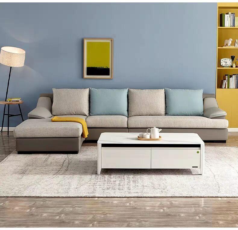 Household leather cloth sofa 1