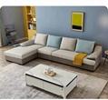 Household leather cloth sofa 2