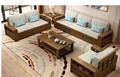 Chinese style soild woode  storage sofa 2