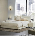 leather fashion soft bed 2
