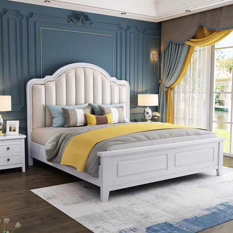 modern simple storage bed 1