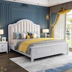 modern simple storage bed